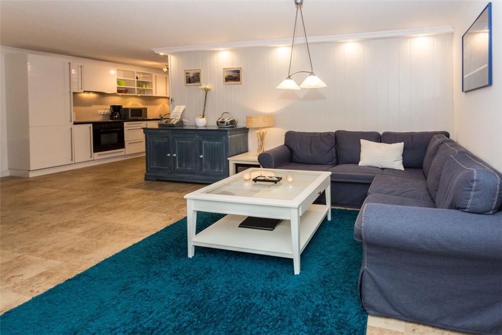 Haus Seewind Ferienwohnng 1 - Wohnzimmer