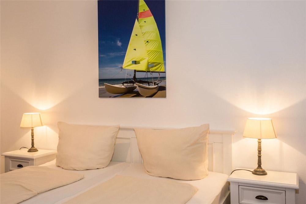 Haus Seewind Whg2 - Doppelbett