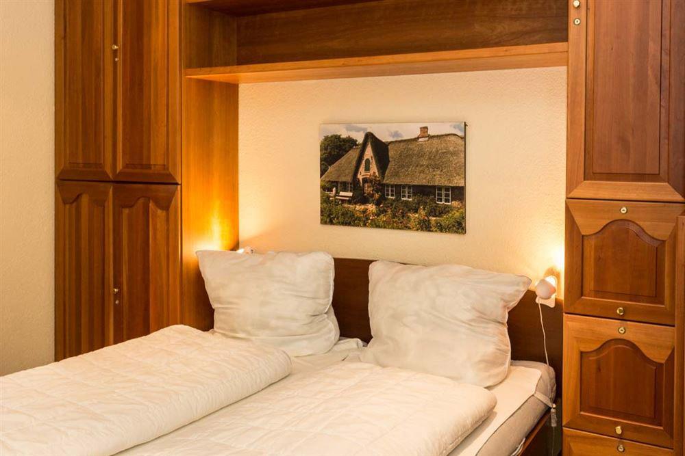 Haus Seewind Whg3 - Bett